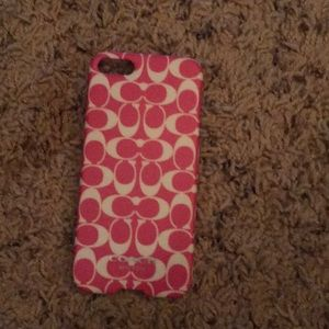 iPhone 5 coach case
